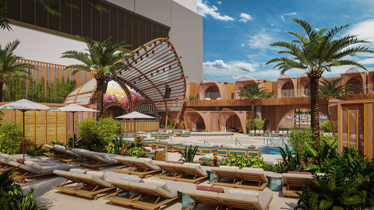 Ayu Dayclub is inspired by the tropical atmosphere of the Southeast Asian island of Bali (Resor ...
